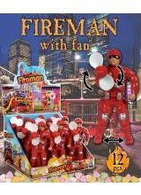 Fireman with fan
