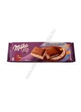 Milka crispy joghurt táblás csoki