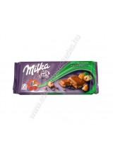 Milka Tört Mogyorós  Táblás Csoki