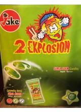 2 Explosion Almás cukorka