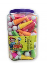 X-treme top cones squeeze candy